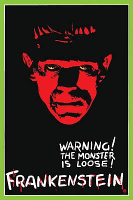 Digital Art - Frankenstein by Gary Grayson