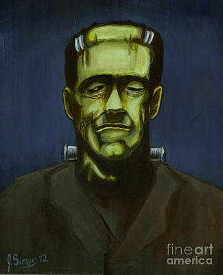 Frankenstein Original by Joshua Simon