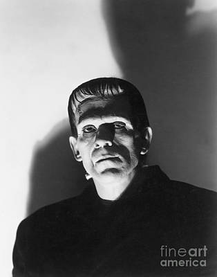 Photograph - Frankenstein by MMG Archive Prints