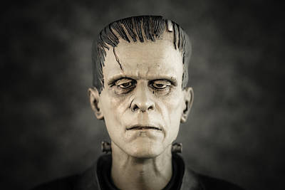 Frankenstein's Monster - Boris Karloff Art Print