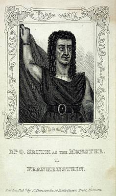 Monster Photograph - Frankenstein's Monster by British Library