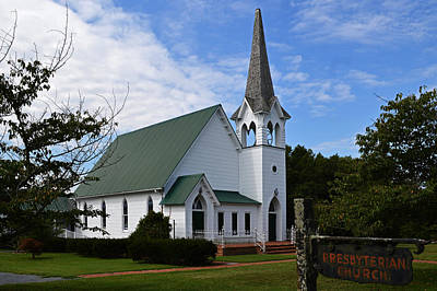 Photograph - Frankford Presbyterian Church by Bill Swartwout