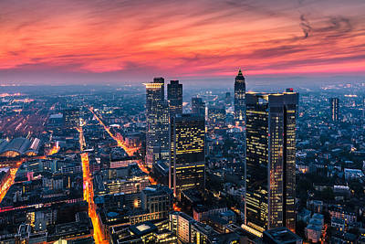 Frankfurt 04 Art Print by Tom Uhlenberg
