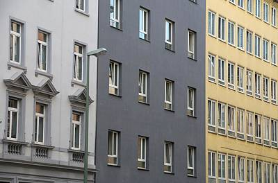 Photograph - Frankfurt Windows by Steven Richman