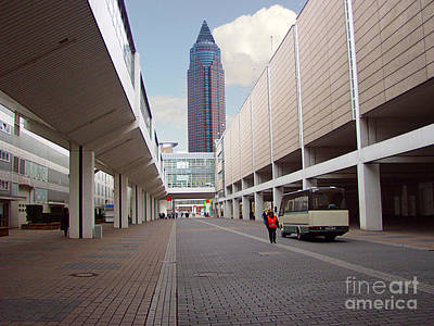 Photograph - Frankfurter Messe Turm by Luc Van de Steeg