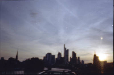 Juans Photograph - Frankfurter Skyline by Juan  Bosco