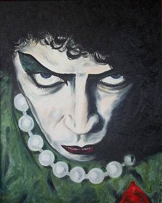 Tim Curry Painting - Frankie by Deana Smith