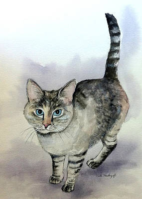 Painting - Frankie by Hilda Vandergriff