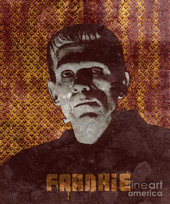 Horror Movies Photograph - Frankie Monster by MMG Archives