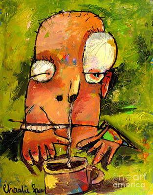 Frankie Needs Coffee No1 Series From That Coffee Thing Original by Charlie Spear