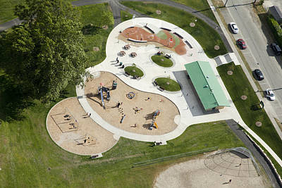 Americas Playground Photograph - Franklin Park, Tacoma by Andrew Buchanan/SLP