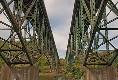 Photograph - Franklin Pierce Bridge - Drummerston Vermont by John Black