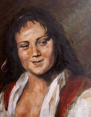 Painting - Frans Hals Study by Diane Daigle