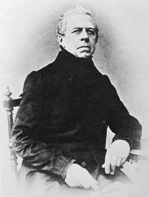 Adolf Photograph - Franz Adolf Berwald (1796-1868) by Granger