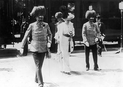 Sarajevo Photograph - Franz Ferdinand, 1914 by Granger