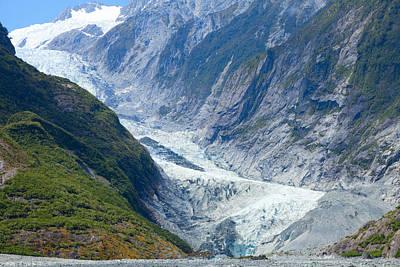 Photograph - Franz Josef Glacier by Alexey Stiop