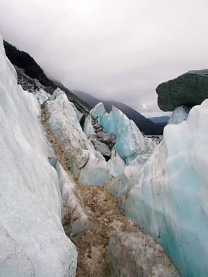 Photograph - Franz Josef Glacier Field by Paula Guy