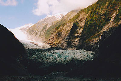 Photograph - Franz-josef Glacier by Jon Emery