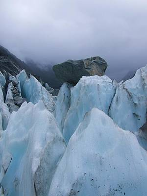 Photograph - Franz Josef Glacier by Paula Guy