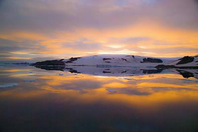 Grey Clouds Photograph - Franz Josef Land, Russia by Janet Muir