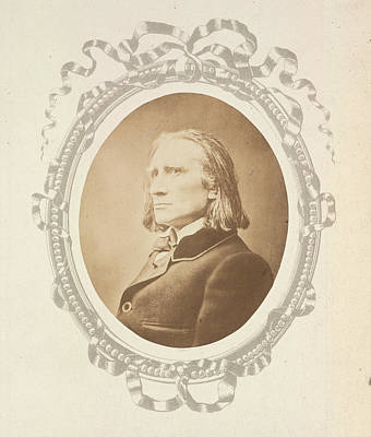 Pianist Photograph - Franz Liszt by British Library