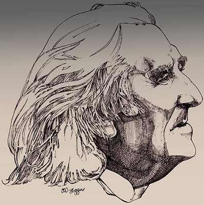 Franz Liszt Art Print by Derrick Higgins