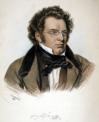 Franz Peter Schubert (1797-1828) Art Print by Granger