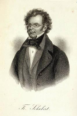 Franz Schubert Art Print by British Library