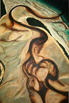 Painting - Fraser Island High _ Australia by Lyndsey Hatchwell