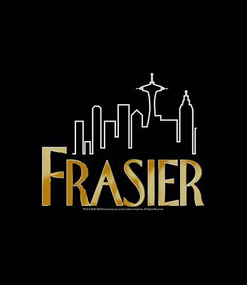 Crane Digital Art - Frasier - Frasier Logo by Brand A