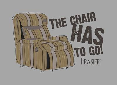 Crane Digital Art - Frasier - The Chair by Brand A