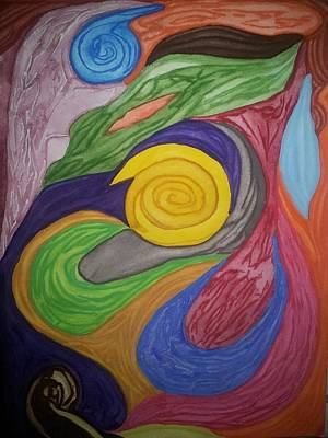 Fertilization Painting - Fraternal by Mary Ann Hindy