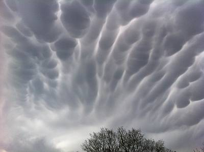 Photograph - Freaky Clouds  by Christy Pooschke
