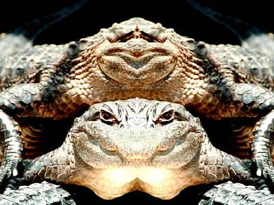Love Them Freaky Florida Gators Art Print by Belinda Lee