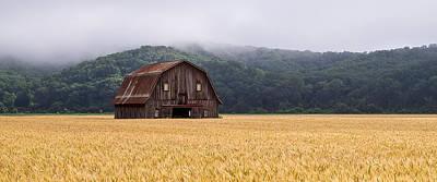 Photograph - Frechman Barn - Summer by Wayne Meyer
