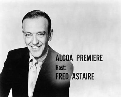 Premiere Photograph - Fred Astaire In Alcoa Premiere  by Silver Screen