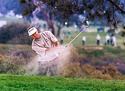 Fred Couples Original by Don Olea
