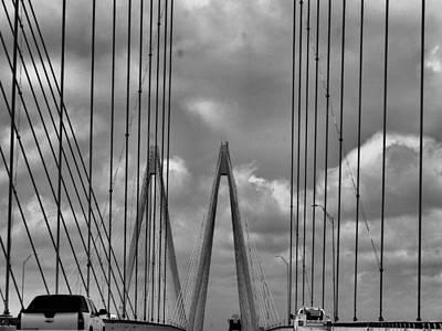 Photograph - Fred Hartman Bridge by Dan Sproul