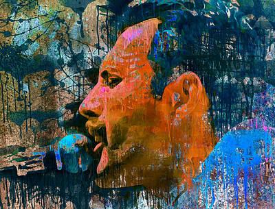 Concert Digital Art - Freddie Happy Atmosphere 3 by Yury Malkov
