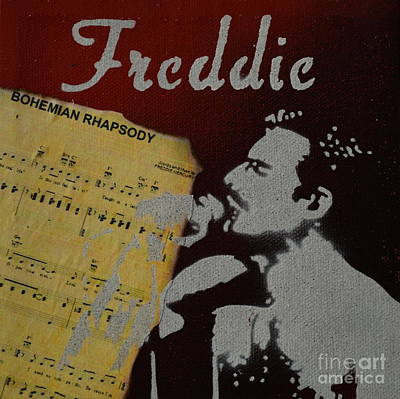 Painting - Freddie by Laura Toth