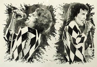 Freddie Mercury 4 Art Print