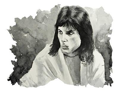 Freddie Mercury 7 Art Print