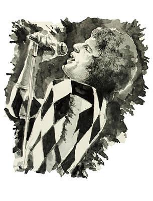 Freddie Mercury Art Print by Bekim Art