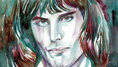 Freddie Mercury Portrait.2 Art Print by Fabrizio Cassetta