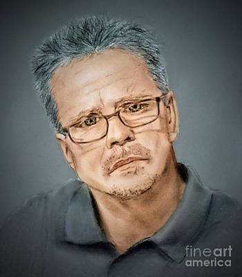 Drawing - Freddie Roach II by Jim Fitzpatrick