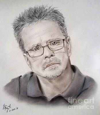 Drawing - Freddie Roach by Jim Fitzpatrick