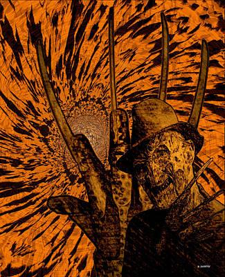 Freddy Print by Brian Dearth