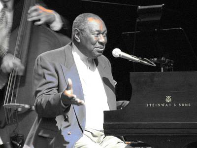 Photograph - Freddy Cole At Chastain by Cleaster Cotton