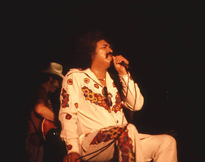 Photograph - Freddy Fender by  George Griffiths
