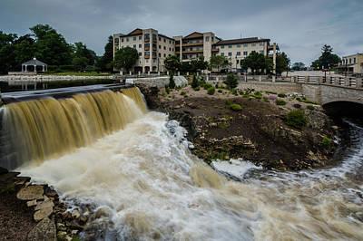 Photograph - Frederic Nehs Dam by Randy Scherkenbach